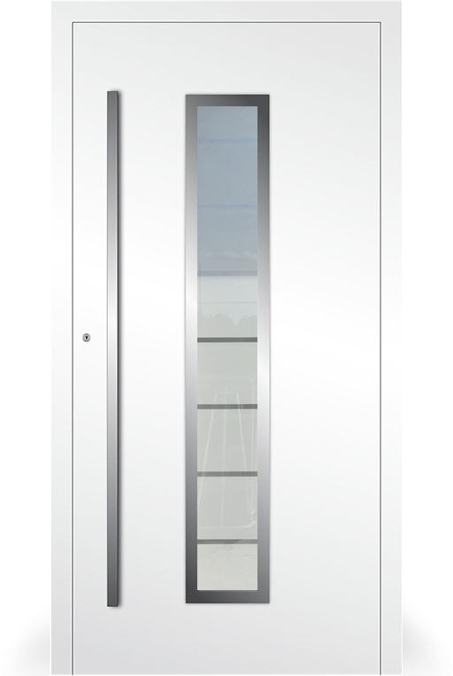 LIM AP01- puerta de entrada de vidrio y aluminio
