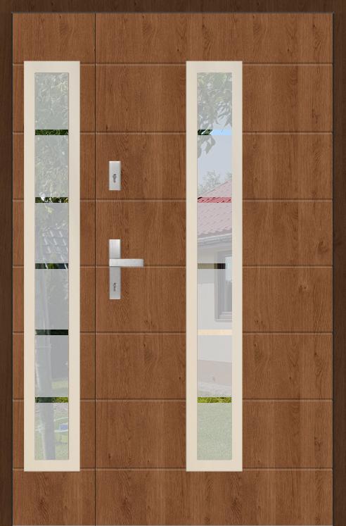 Fargo 12C DB - puertas de entrada modernas