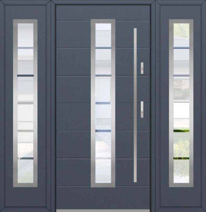 Fargo 12C T - puertas de entrada con paneles