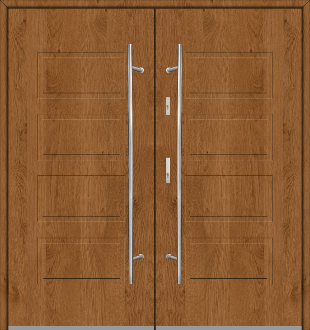 Fargo 13 double - puerta de metal doble