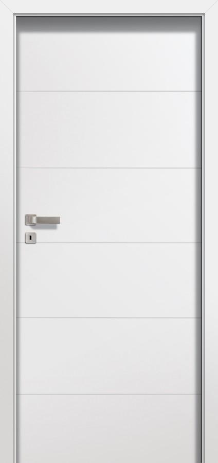 Plano SIMPLE - puertas de interior blancas