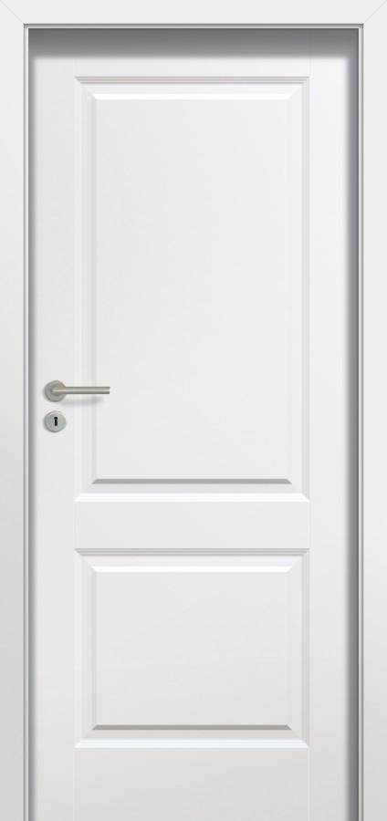 Plano MODERN - puertas de interior blancas