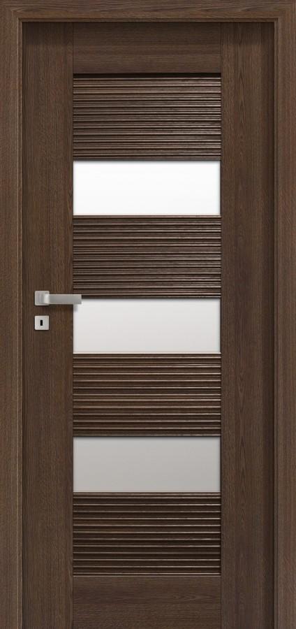 Plano SEM ONDA - puertas de interior con cristal