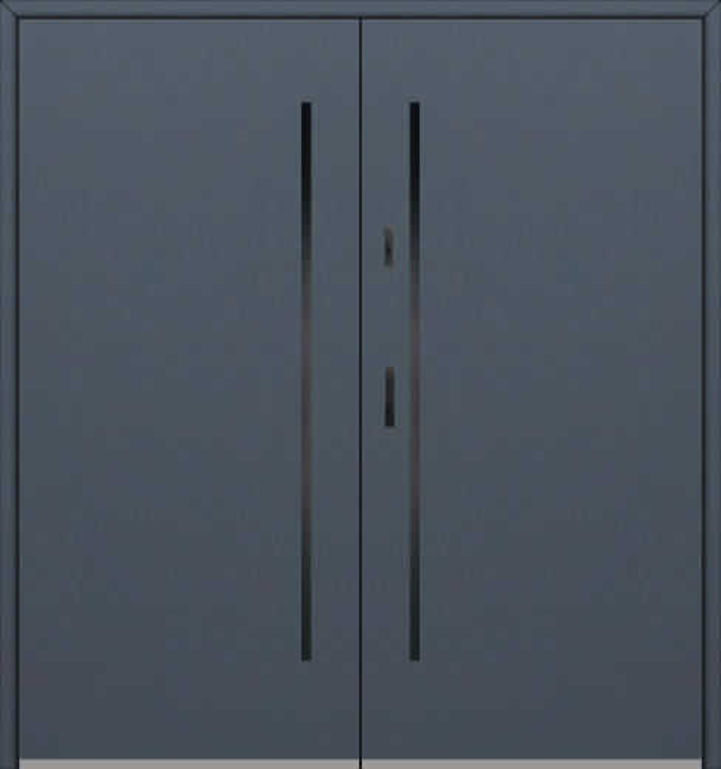 Fargo 1 double - puertas de entrada dobles / puertas francesas