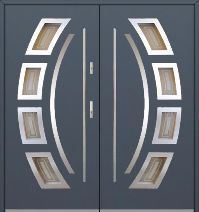 Fargo 21 double - puertas de entrada dobles / puertas francesas
