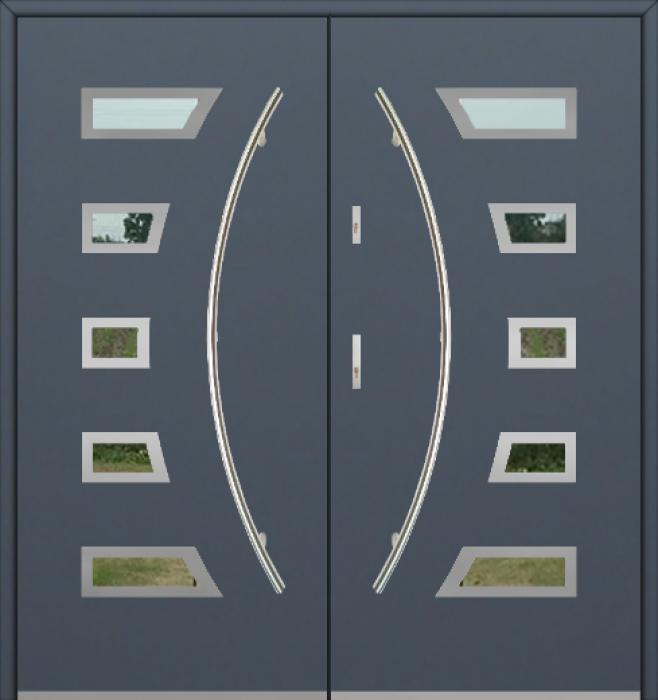 Fargo 23A double - puertas de entrada de casa