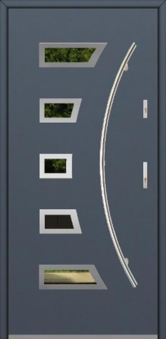 Fargo 23A - puertas de entrada de aluminio