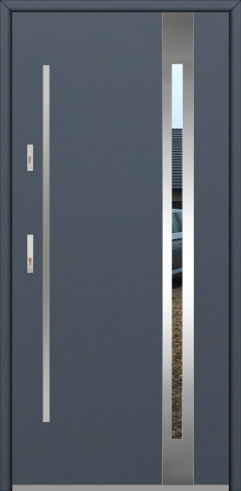 Fargo 25B - puerta metalica exterior