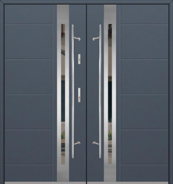 Fargo 25C double - puerta francesa exterior