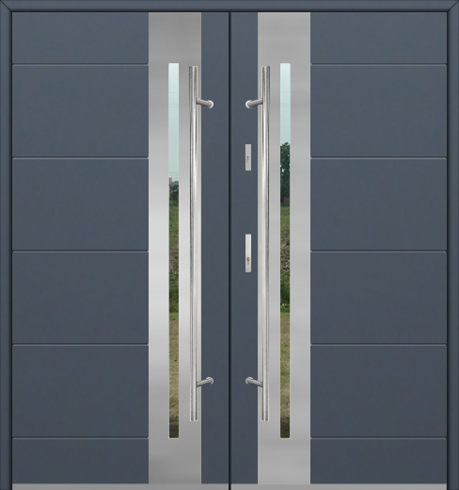Fargo 26 double - puertas de entrada dobles / puertas francesas