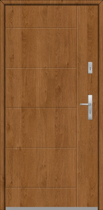 Fargo 26d - puertas de entrada de madera