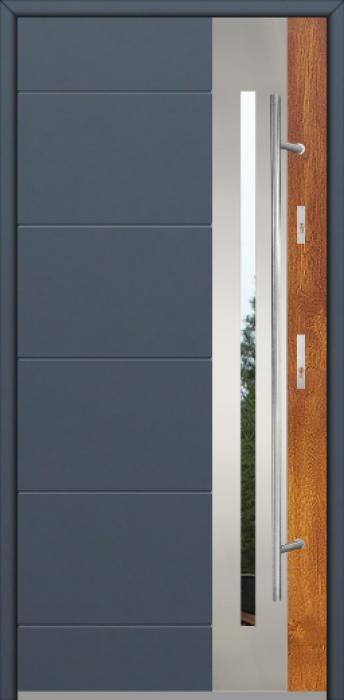 Fargo 26 DUO - puertas de entrada modernas