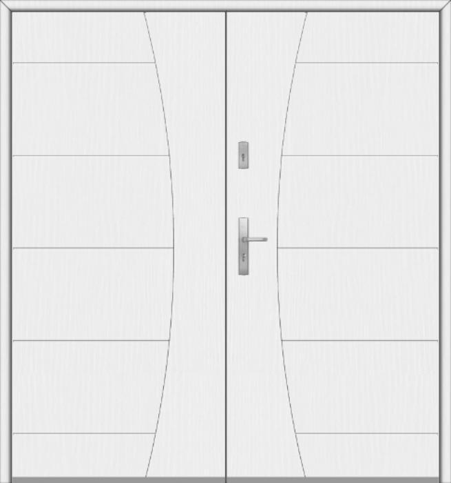 Fargo 26 G double - puertas de entrada dobles / puertas francesas