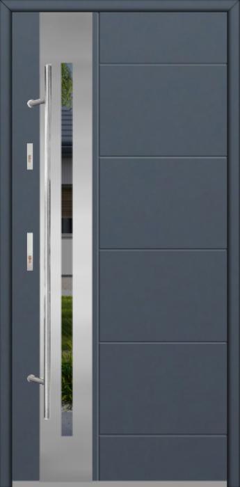Fargo 26H - puerta aluminio exterior