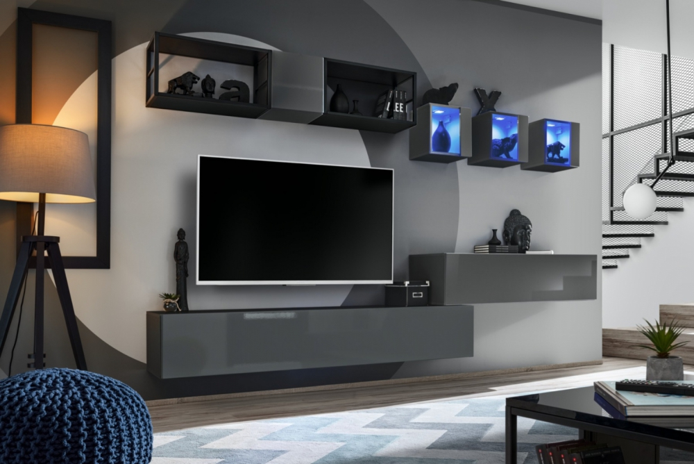 Shift M3 - pared de tv moderna