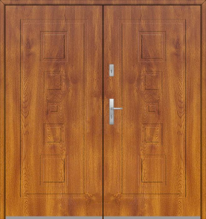 Fargo 28 double - puertas de entrada con paneles