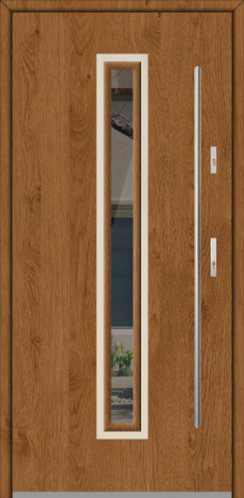 Fargo 29 - puertas de entrada con cristal