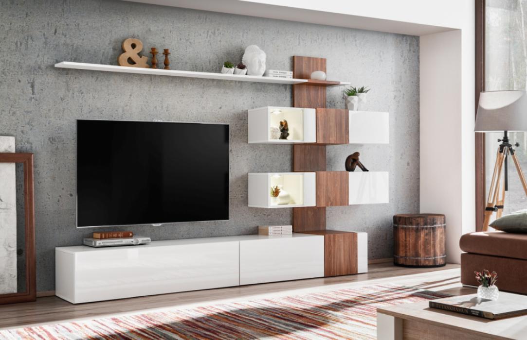 Omaha entertainment unit - muebles salon baratos
