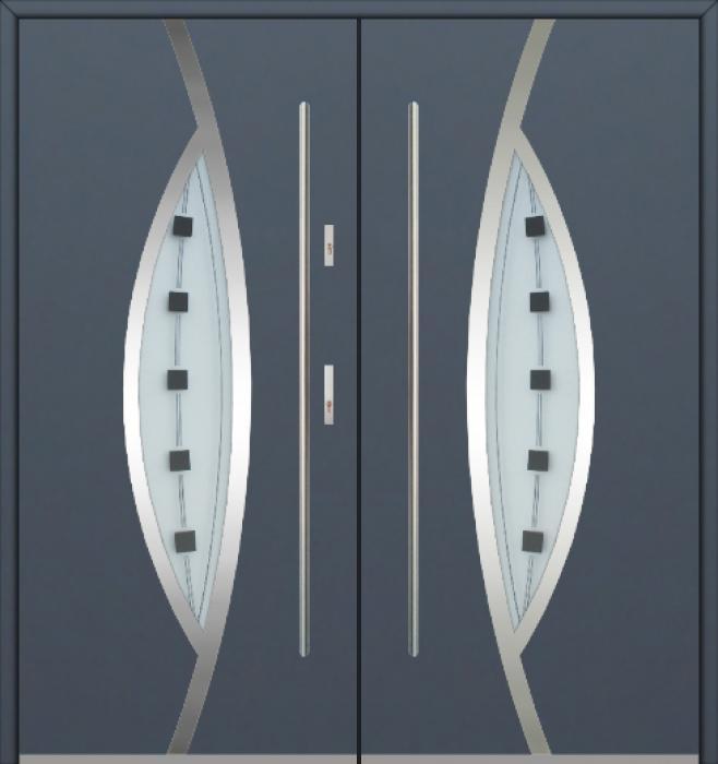 Fargo 31 double - puertas de entrada dobles / puertas francesas