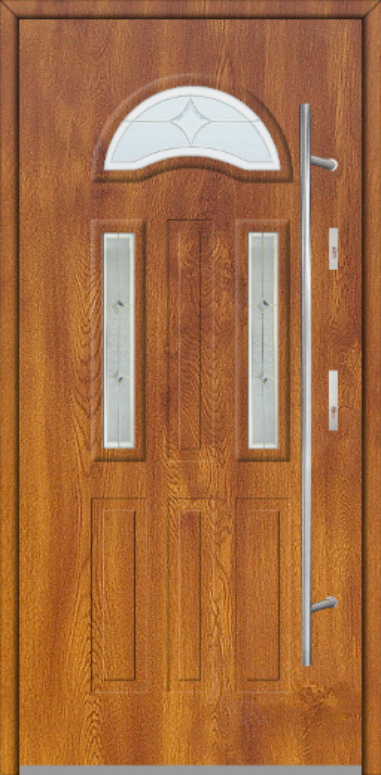 Fargo 34A - puertas de entrada de casa