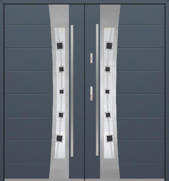 Fargo 37 double - puerta de entrada doble / puertas francesas