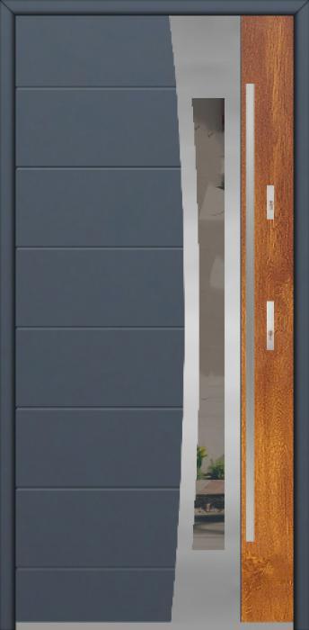 Fargo 37 DUO - puerta aluminio exterior