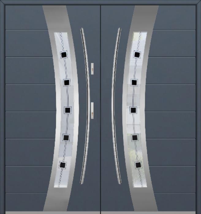 Fargo 38 double - puertas de entrada dobles / puertas francesas