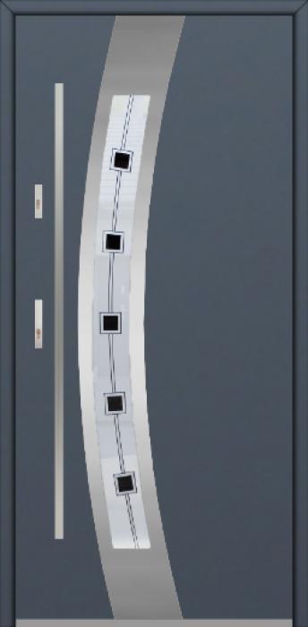 Fargo 38A - puertas de entrada con cristal