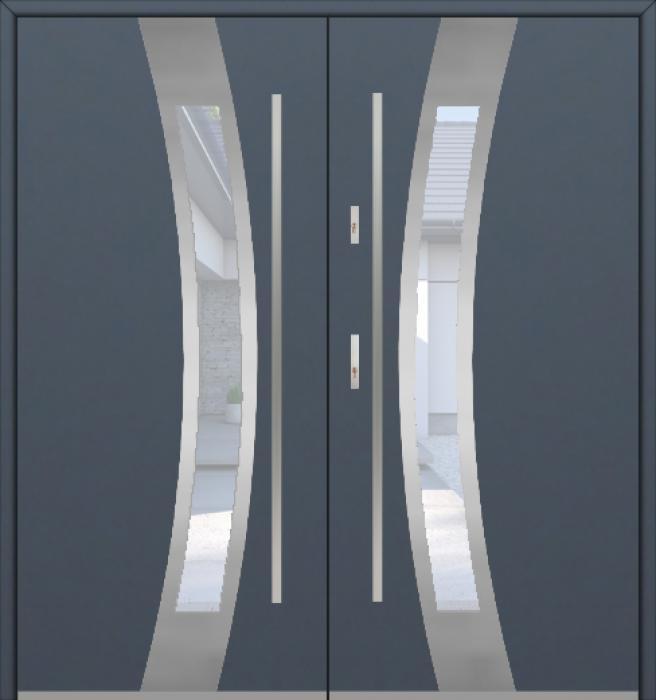 Fargo 38A double - puertas de entrada dobles / puertas francesas