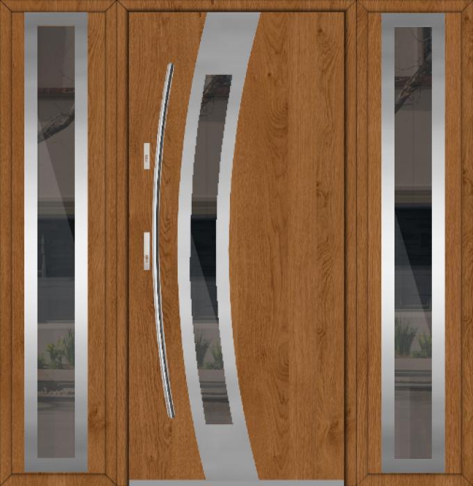 Fargo 38A T - puerta metalica exterior