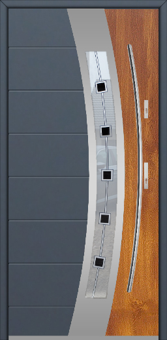 Fargo 38 DUO - puerta aluminio exterior