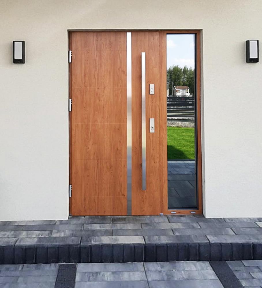 Fargo 41 - puertas de entrada de madera