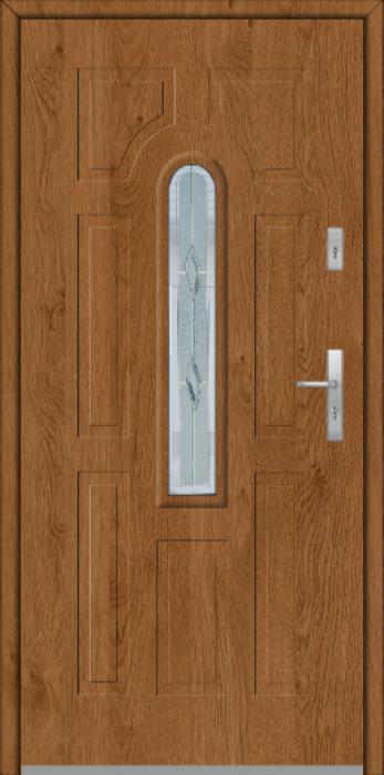Fargo 5 - puertas de entrada de madera