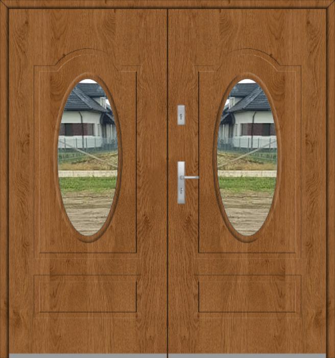 Fargo 8 double - puerta de entrada con doble acristalamiento