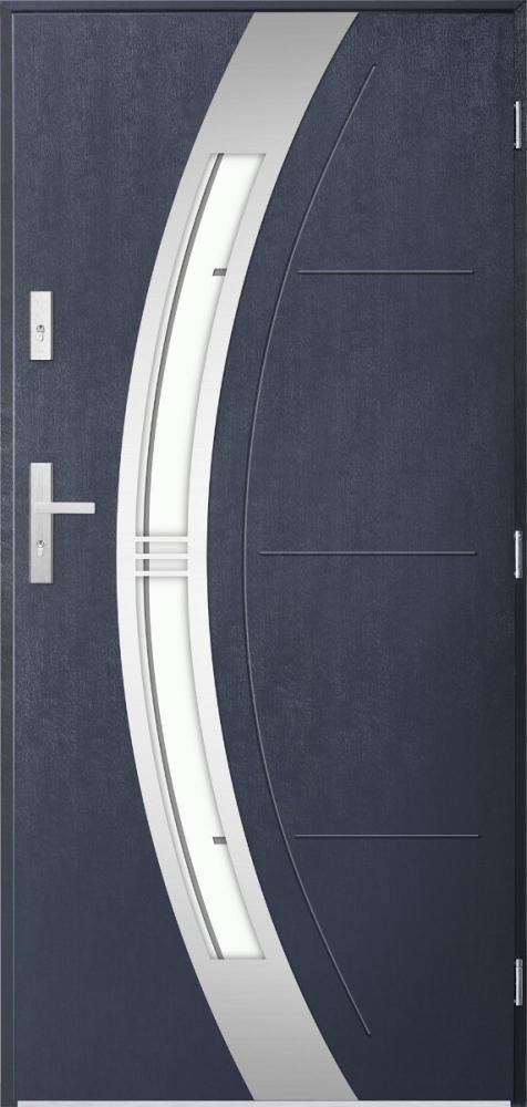 Sta Andromeda - puerta metalica exterior