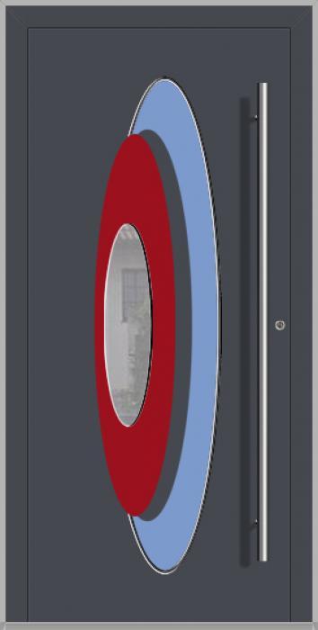 LIM INLAY  - Puerta principal de aluminio