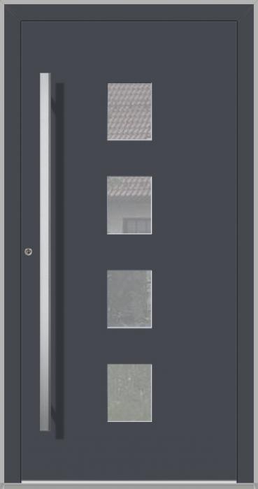 LIM Basic - puertas de entrada de aluminio para viviendas