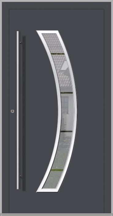 LIM Bumerang - puerta principal de vidrio de aluminio