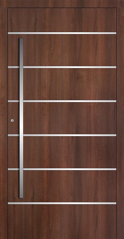 LIM AP04 - puerta de entrada de vidrio y aluminio
