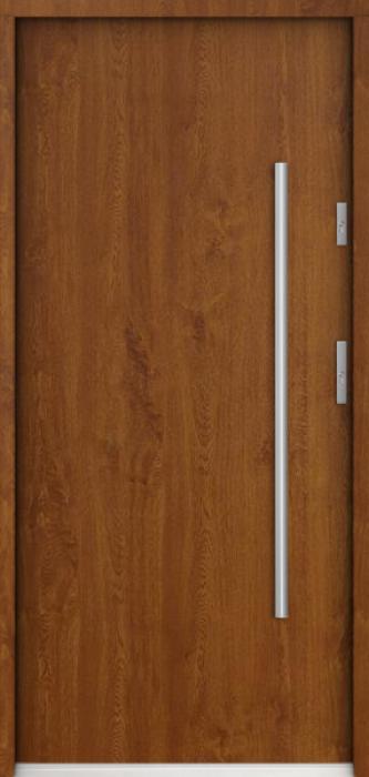 Sta Columb - puertas de entrada de madera