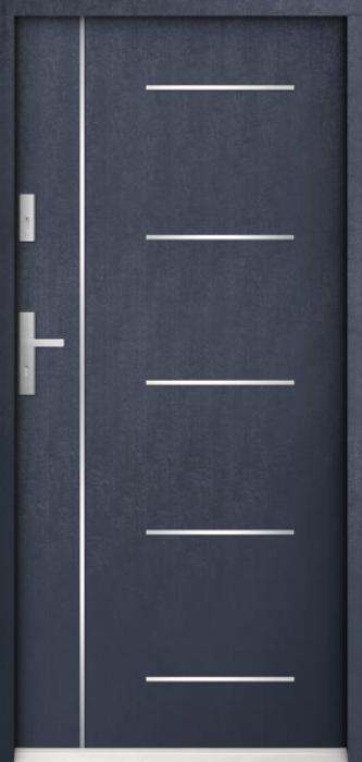 Sta Cortez - puertas de entrada de hierro