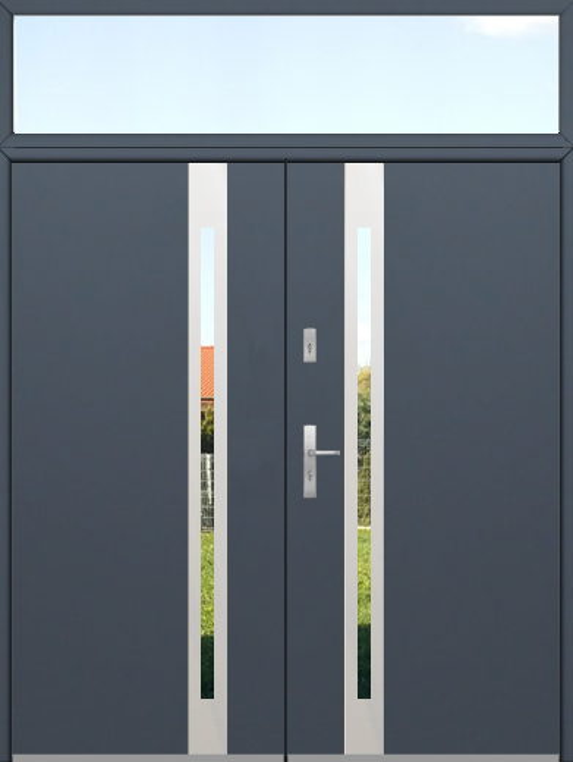 configuración personalizada - Fargo de puerta doble con luz lateral superior