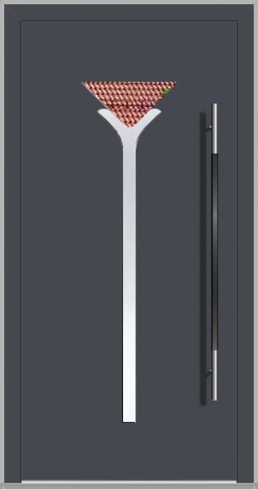 LIM Drink - puerta principal de vidrio de aluminio