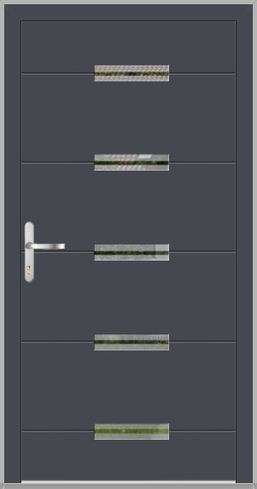 LIM Werset - puerta de entrada de aluminio
