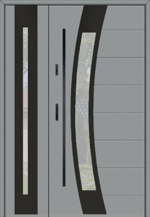 Fargo 38 DB - puertas de entrada con cristal