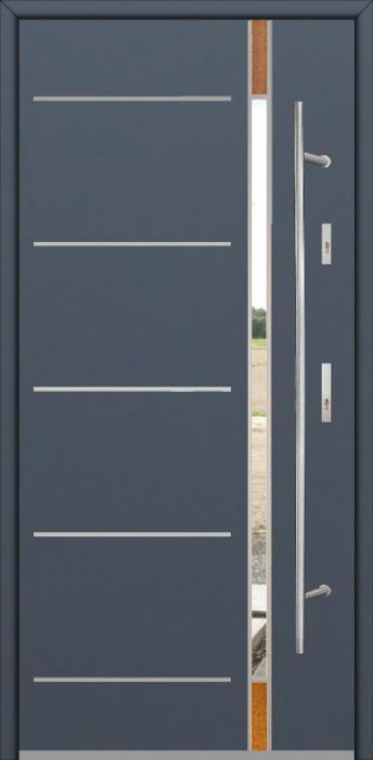 Fargo Fi04D - puerta metalica exterior
