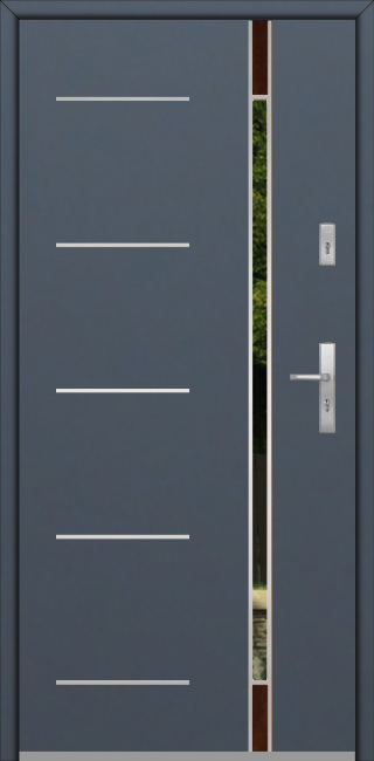 Fargo Fi04E - puerta aluminio exterior