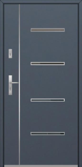 Fargo Fi09B - puerta aluminio exterior