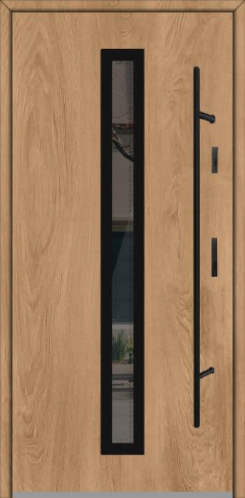 Fargo GD01A - puerta aluminio exterior