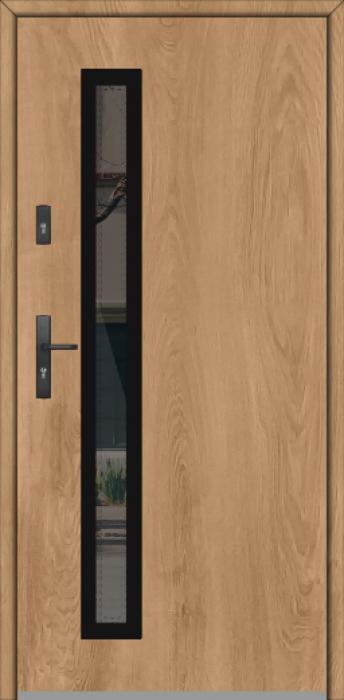 Fargo GD01B - puertas de entrada modernas